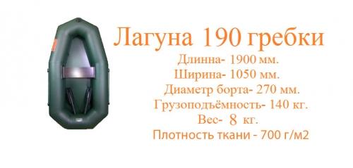 Лагуна 190 Гребки